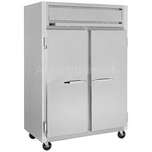 Randell 2020DE 44 CuFt Reach-In Dual Temp Cooler & Freezer S/S Int. & Ext.
