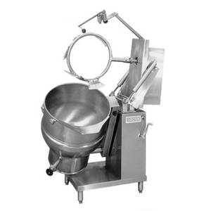 Groen DHT-60,INA/2 Floor Model Gas Tilting Mixer Kettle w/ 60 Gal. Capacity