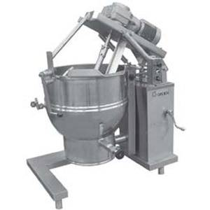 Groen DEE/4T-40 INA/2 Floor Model Electric Tilting Mixer Kettle w/ 40 Gal. Cap.