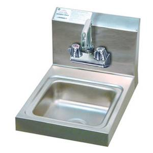 Advance Tabco 7-PS-23-EC-X Economy Hand Sink 9 x 9 x 5 Bowl Splash Mount 4 Center