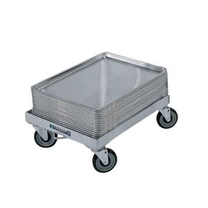 Lakeside Aluminum Sheet Pan Rack Dolly w/ 5 Casters - 620