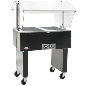 Eagle Group BPDHT2 Deluxe Serving Mate 2-Well Electric Hot Food Table / Buffet