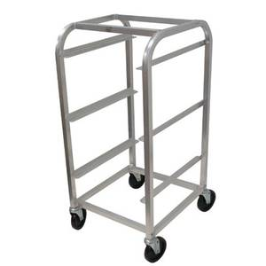 Advance Tabco 3-Tier Bus Box Cart Aluminum with Casters - BC3-X