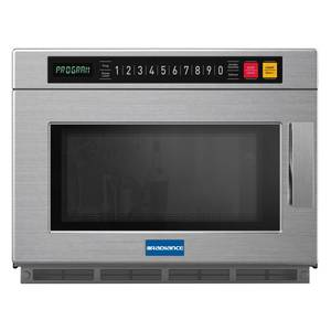 Radiance Commercial 0.9 CuFt Programmable Microwave Oven S/S 1800w - TMW-1800HD