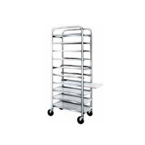 Win-Holt End Loading Welded Stainless Steel 12 Pan Bun Rack - SS-1812B