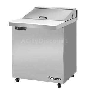 Victory 27 Value Line Refrigerated Sandwich Prep Unit w/ 8 Pan Cap. - UR-27-SAL