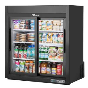 True GDM-9-LD 9 Cu.Ft. Countertop DualGlass Door Merchandising Cooler