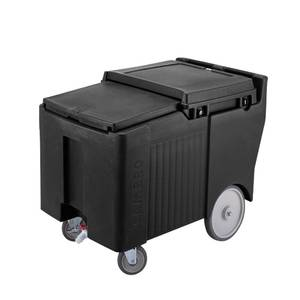 Cambro SlidingLid Portable Ice Caddy w/ 125lb Ice Capacity - ICS125LB