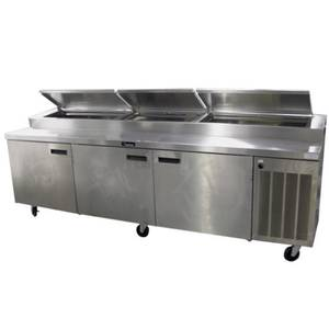 Delfield 18699PTBM 99 Wide Refrigerated Pizza Prep Table