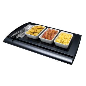 Hatco Serv-Rite Heated Glass Portable Buffet Warmer Base Only - SRG-1