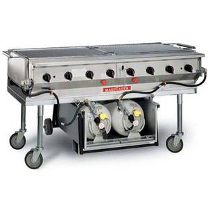 Magikitch'n LPAGA-60 60 Aluminum Magicater Transportable LP Gas Grill