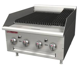 Southbend HDC-48 48 Wide Heavy Duty Countertop Gas Charbroiler