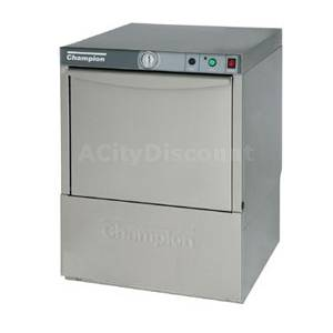 Champion Undercounter Low Temp Dishwasher Stainless 21 Racks/hr - UL-100