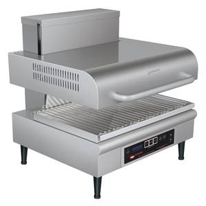 Hatco SAL-1 22-3/4 W Countertop Electric Salamander w/ Adjustable Hood