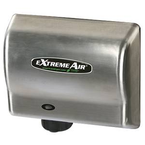 American Dryer GXT9-C GXT Series Automatic Hand Dryer Steel Satin Graphite 1500W
