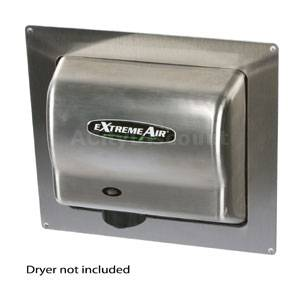 American Dryer ADA-SS Stainless Steel Recess Kit for Hand Dryers