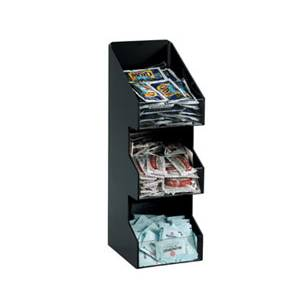 Dispense-Rite VCO-3 3 Section Countertop Lid & Condiment Caddy Organizer