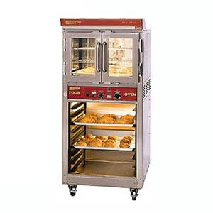 Doyon Baking Equipment JA4SCG Gas Jet-Air Convection Oven w/ 4 Pan Capacity & Cabinet Base
