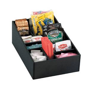 Dispense-Rite Countertop Lid, Straw & Condiment Organizer - MICRO-1
