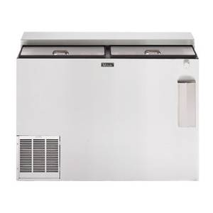 Perlick 48 Flat Top Self-Contained Sliding Door Bottle Cooler - BC48-STK
