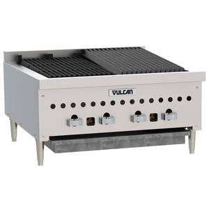 Vulcan 24W Low Profile Radiant Gas Charbroiler 58 kBTU - VCCB25