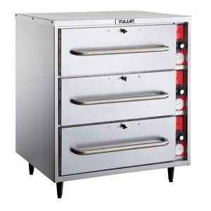 Vulcan Freestanding Three Drawer Warmer Cabinet - VW3S