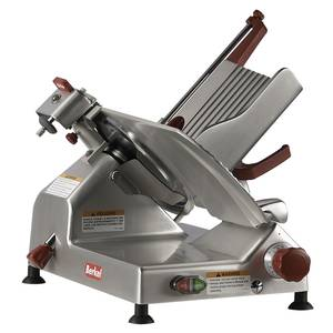 Berkel 12 1/2 HP Manual Gravity Feed Economy Series Slicer - 827A-PLUS