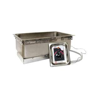 APW Wyott Energy Efficient Half Pan Top Mount Hot Food Well w/ Drain - TM-12LD UL