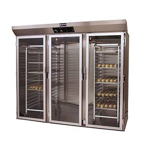 Doyon Baking Equipment Three Section Roll In Proofer Cabinet w/ 2 Rack & 10 Pan Cap - E336