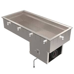Vollrath 4 Pan Standard Refrigerated Modular Cold Pan Drop-In - 36444