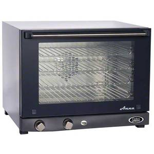 Cadco Countertop Electric Convection Oven w/ (4) 1/2 Size Pan Cap. - OV-023