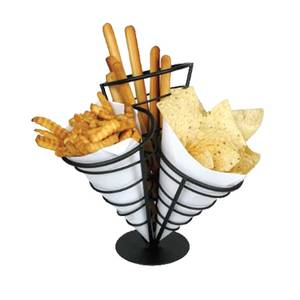 Winco French Fry Cone Holder 3 Cone - WBKH-10