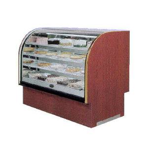 Marc Refrigeration 49-1/2 Lift Up Hi Vol Curved Glass Dry Bakery Display Case - LUBCD-48