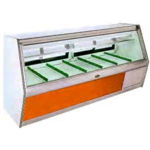 Marc Refrigeration BDL-10 S/C 118 Self-Contained Double Duty Meat Display Butcher Case