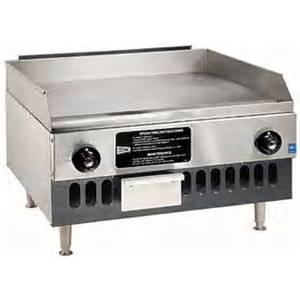 GMCW 36 W Counterop Medium Duty Gas Griddle - 48 kBTU - BG36
