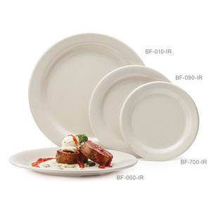 G.E.T. 2 Dozen - 9 Round Melamine Plate Available in 4 Colors - BF-090-*