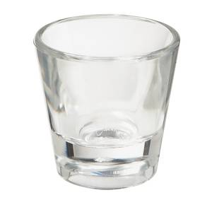 G.E.T. 2 Dozen - 1 oz 2 Shot Glass 2 Tall - Clear - SW-1425-1-CL