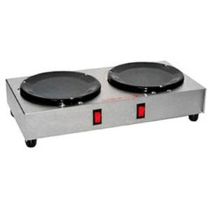 GMCW BW-2 Dual Side-By-Side Burner Countertop Coffee Warmer Plate