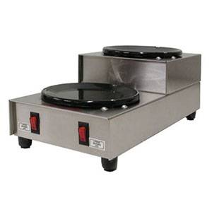 GMCW BW-2SU Dual Step-Up Burner Countertop Coffee Warmer Plate