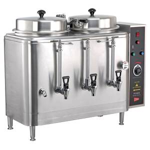 GMCW FE100N-102417 Twin 3 Gallon Electric Automatic Coffee Urn