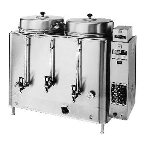 GMCW Twin 10 Gallon Electric Automatic Coffee Urn - FE300