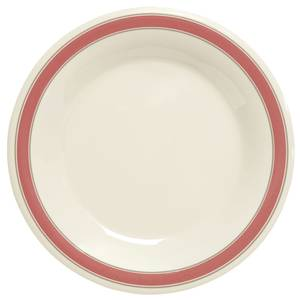 G.E.T. 1 Dz - 10-1/2 Diamond Oxford™ Narrow Rim Melamine Plate - NP-10-OX