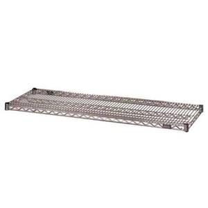 Eagle Group 2ea -24x72 Wire Shelf VALU-MASTER® Pewter Gray Epoxy Finish - 2472V-X