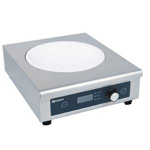 Adcraft IND-WOK208V Countertop Electric Wok-Size Induction Hot Plate 208V
