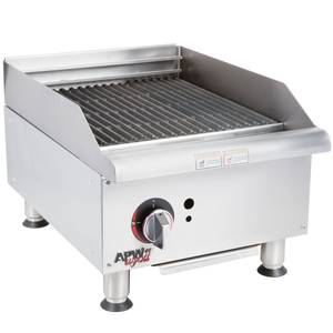 APW Wyott GCB-18I Champion 18in Countertop Radiant Gas Charbroiler