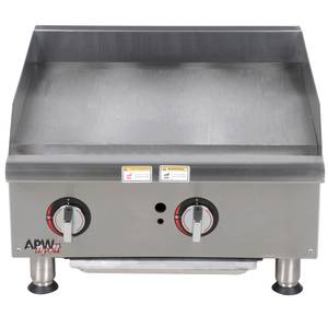 APW Wyott GGM-24I Champion 24in Countertop Gas Griddle Manual