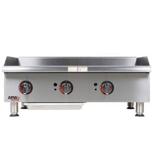 APW Wyott GGM-36I Champion 36in Manual Gas Griddle