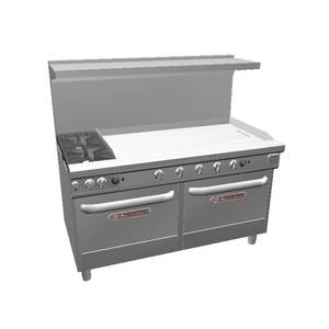Southbend Ultimate 60 Range w/ 48 Therm. Griddle & 2 Std Ovens - 4601DD-4T*