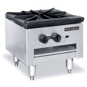 American Range 18 Gas Stock Pot Range Stainless Low Profile Economy - SPSH-18