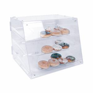 Thunder Group PLDC001 Acrylic Pastry Display Case 21 x 17 x 16